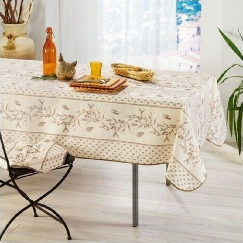 Stain resistant tablecloth - Cigale...