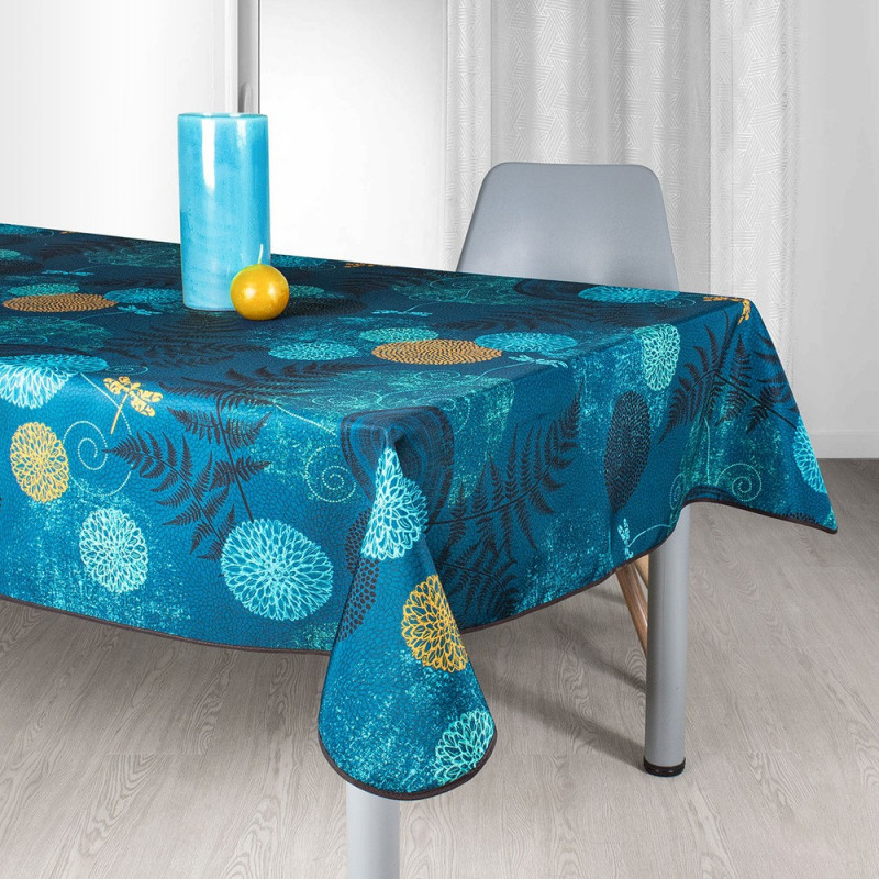 Stain resistant tablecloth - Libellule
