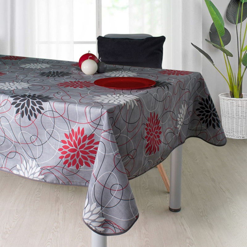 Stain resistant tablecloth - Rosace