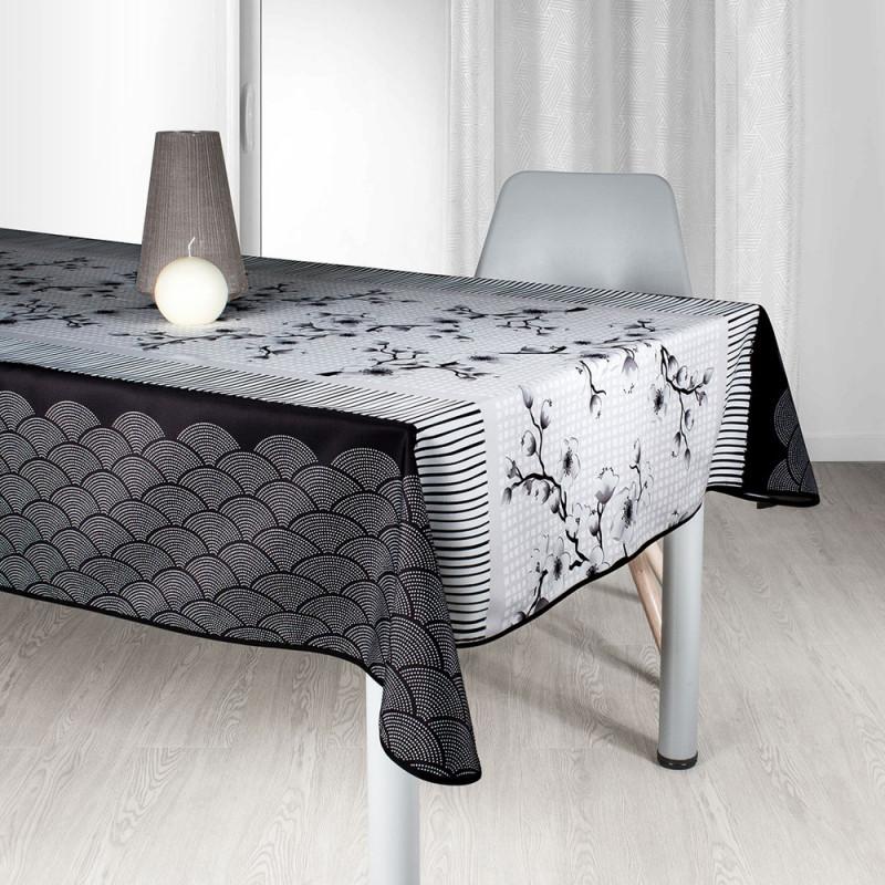 Stain resistant tablecloth - Sakura