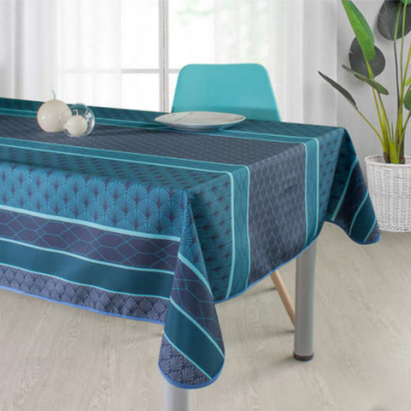 Stain resistant tablecloth - Coquillage