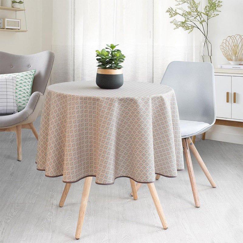Stain resistant tablecloth - Losange