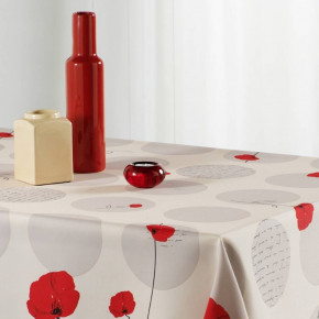 Tablecloth Wheat Round -...