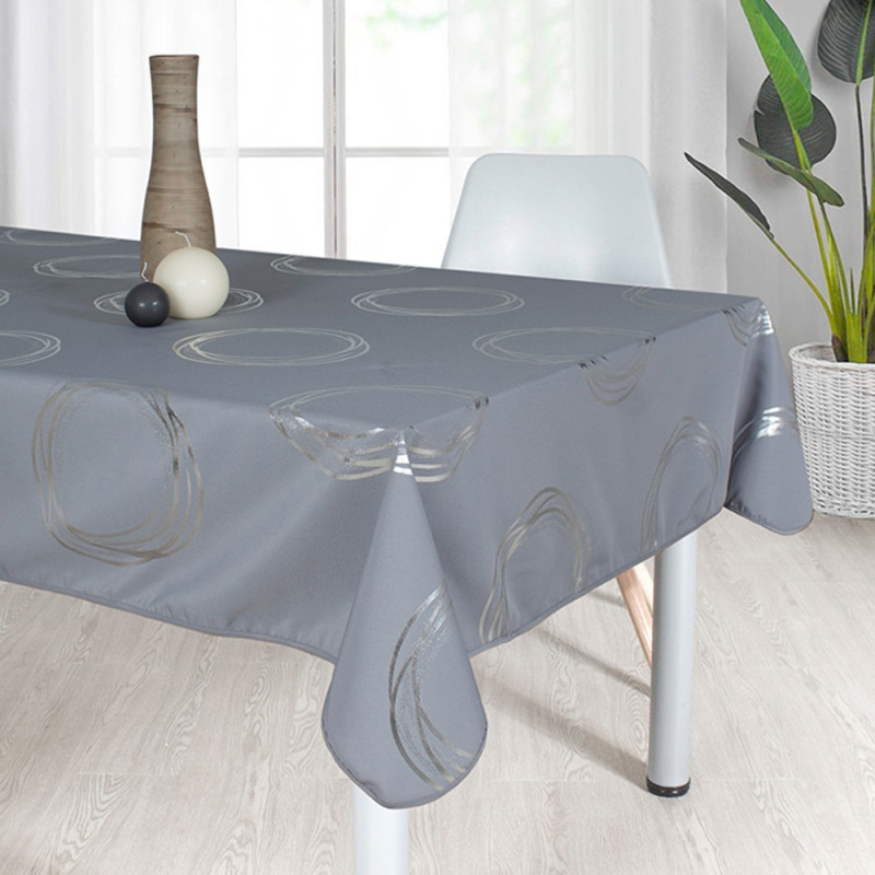 Stain resistant tablecloth - Cercles...