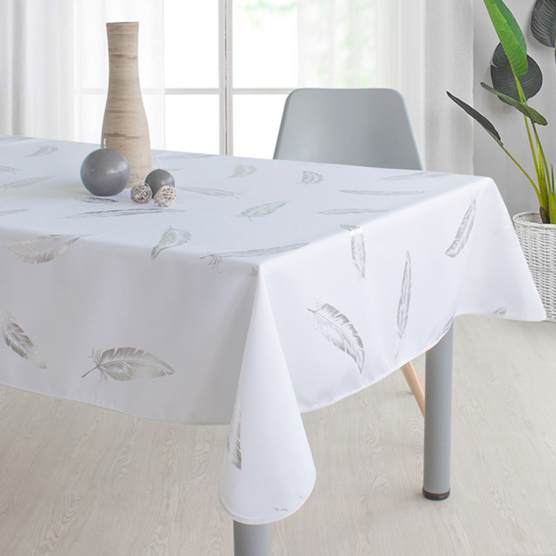 Stain resistant tablecloth - Plume...