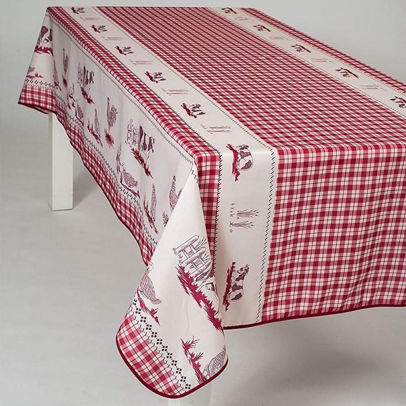 Stain resistant tablecloth - Ferme et...