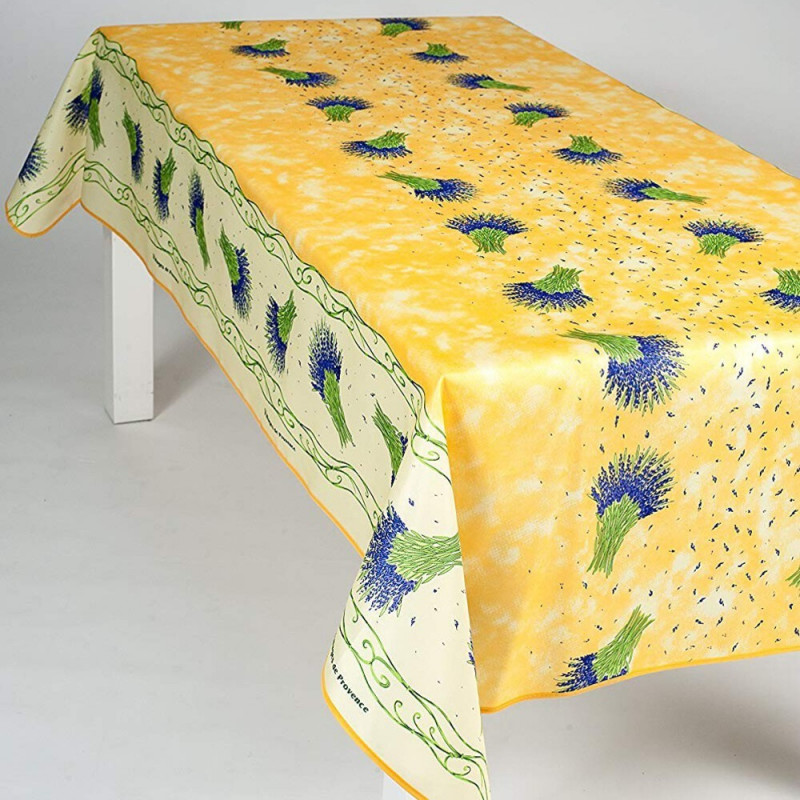 Stain resistant tablecloth - Bouquet...