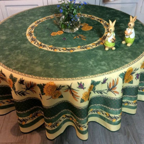 Nappe Perroquet ronde -...