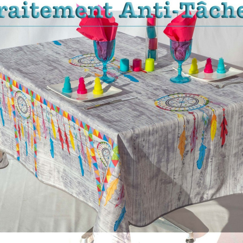 Stain resistant tablecloth - Indien...