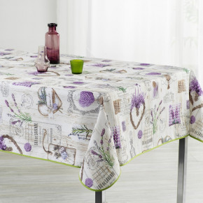 Pois Tablecloth Black and...