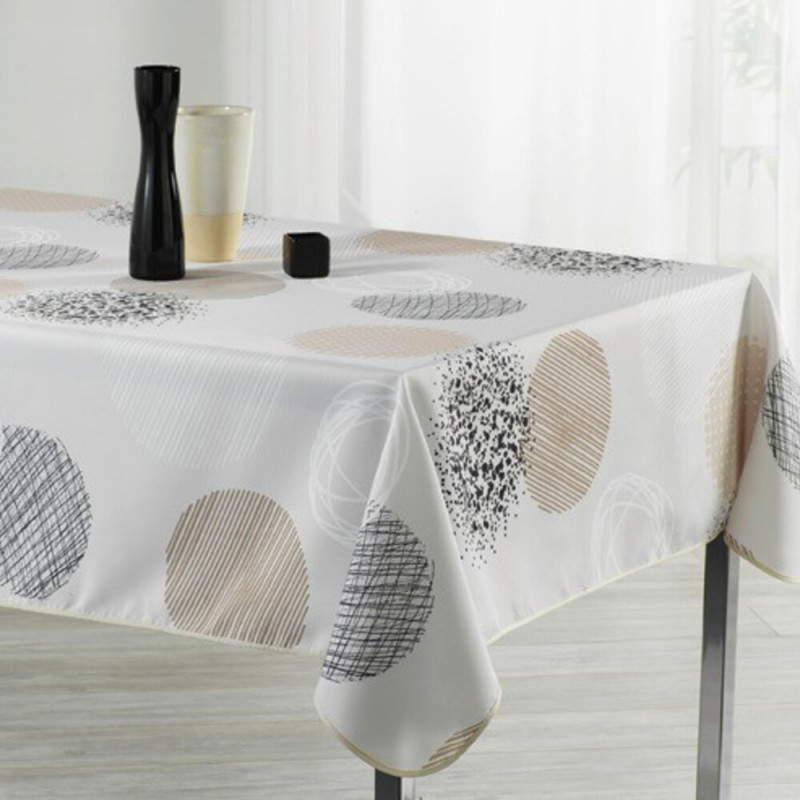 Stain resistant tablecloth - Bulles...