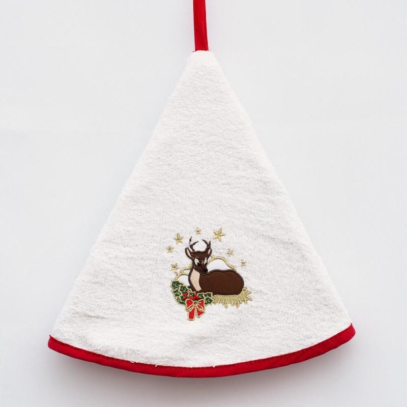 Hand Towel - Cerf de Noël
