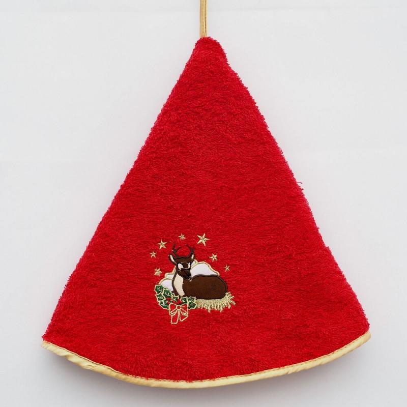 Handtuch - Cerf de Noël