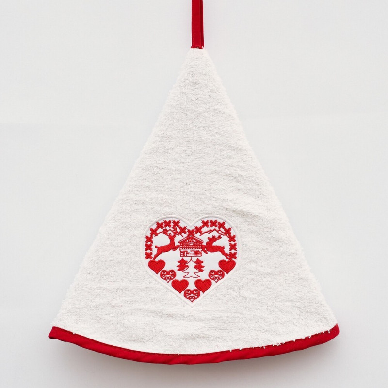 Hand Towel - Montagne de Noël